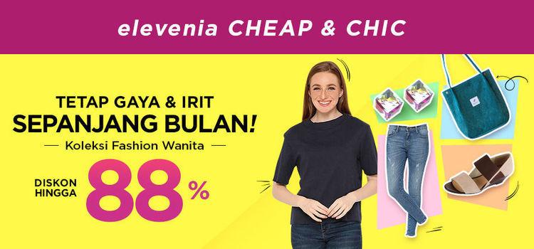 Elevenia Cheap & Chich Diskon Hingga 88% Katalog Koleksi Fashion Wanita (24049295) di