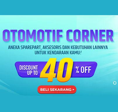 Elevenia Otomotif Corner Diskon Up to 40% Off (24050147) di Kota Jakarta Selatan