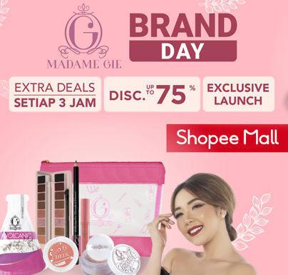 Shopee Promo Madame Gie Brand Day Extra Deals Setiap 3 Jam Disc Up To 75% (24050491) di Kota Jakarta Selatan
