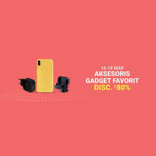 Shopee Promo Aksesoris Gadget Disc Up To 80% (24084155) di Kota Jakarta Selatan