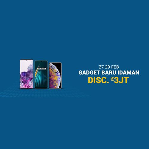 Shopee Promo Gadget Baru Idaman Disc Up To 3JT (24085067) di Kota Jakarta Selatan