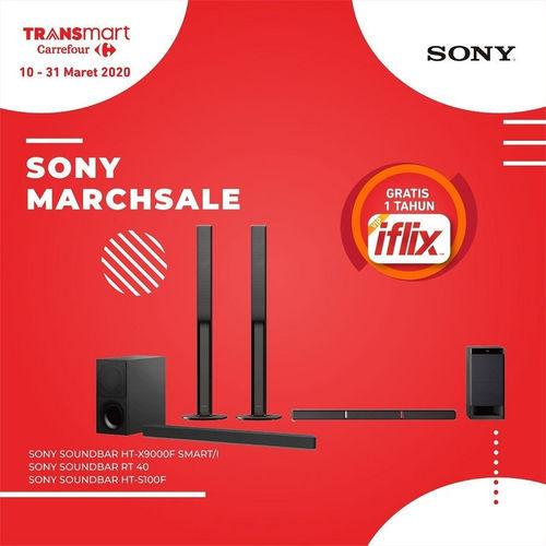 Promo Transmart Carrefour Gadget Elektronik Sony Marchsale Jakarta Selatan Jualo