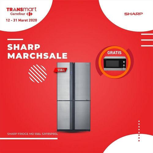 Promo Transmart Carrefour Gadget Elektronik Sharp Marchsale Jakarta Selatan Jualo