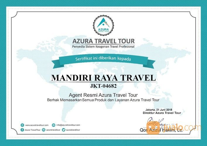 Biro Jasa Travel Kalimantan (24097263) di Kota Palangkaraya