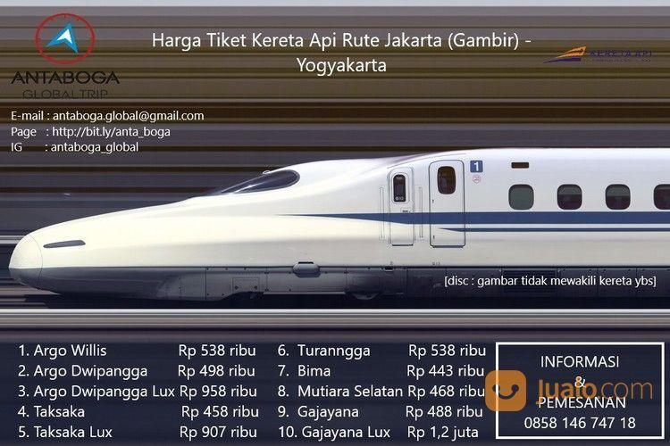 ANTABOGA GLOBAL TRIP - Naik Kereta Ke Yogyakarta Dengan Harga Terbaik (24104307) di Kota Jakarta Selatan