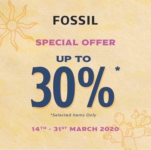 Fossil Special Offer Up To 30% (24105431) di Kota Jakarta Selatan