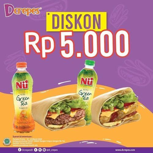 Dcrepes Promo Diskon Rp. 5000 (24107055) di Kota Jakarta Selatan