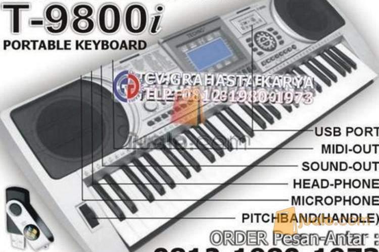 Keyboard Techno T9800i Paketlengkap Rp 1 200 000 Bergaransi Free Cod Depok Jualo