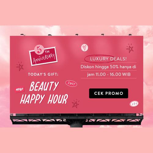 Sociolla 5th Anniversary Beauty Happy Hour Luxury Deals! (24110575) di Kota Jakarta Selatan
