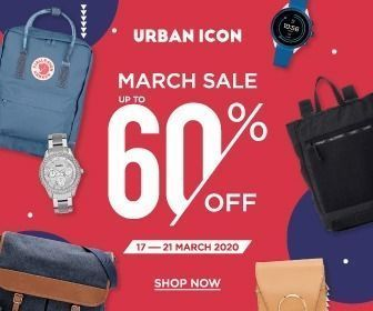 Urban Icon March Sale Up To 60% (24111447) di Kota Jakarta Selatan