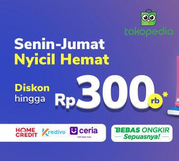 Promo Cicilan Tokopedia: Belanja Sekarang, Bayarnya Bulan Depan! (24128479) di Kota Jakarta Selatan