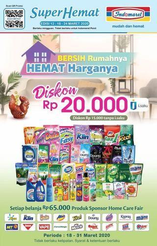 INDOMARET SUPER HEMAT Diskon Rp 20.000 Edisi Maret 2020 (24129771) di Kota Jakarta Selatan