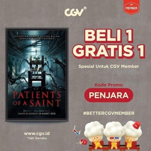 CGV Promo Tiket Nonton Buy 1 Get 1 'Patients of a Saint' (24140907) di Kota Jakarta Selatan