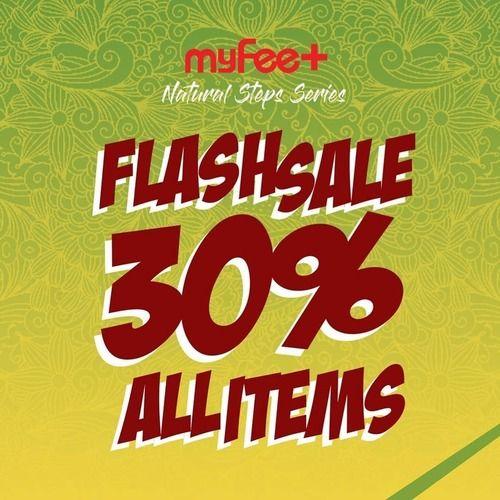 Myfeet Flash Sale 30% All Items (24141091) di Kota Jakarta Selatan