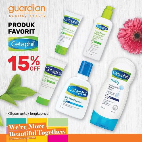 Guardian Promo Cetaphil 15% Offf (24142231) di Kota Jakarta Selatan