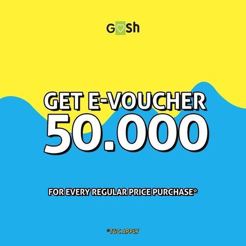 Gosh Shoes E-Voucher Rp 50.000 (24145771) di Kota Jakarta Selatan