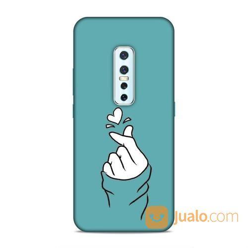 Finger Heart Vivo V17 Pro Custom Hard Case (24150351) di Kota Bekasi