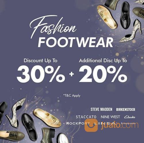 Disc Up To 30% + Add Disc Up To 20% Mapemall Promo Footwear (24160187) di Kota Jakarta Selatan