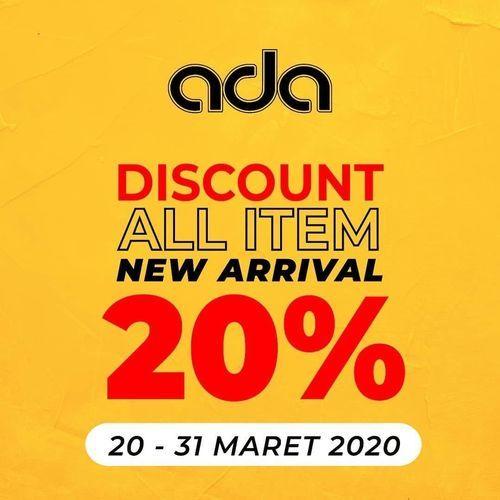 ADA Fashion Discount All Item 20% (24170743) di Kota Jakarta Selatan