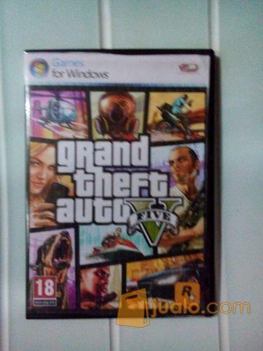 Dvd Game pc GTA 5 (24284) di Kota Bandung