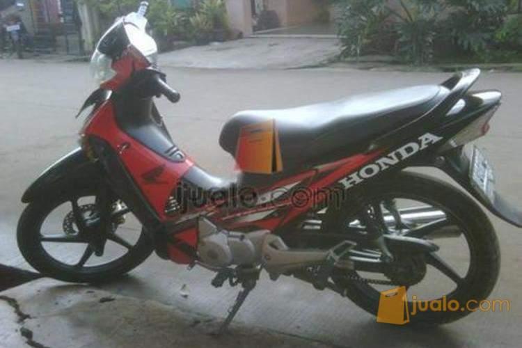 Honda Supra X 125 D Cw Hitam Merah Batman 2006 Depok Jualo
