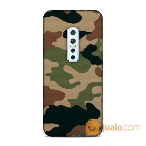 Pastel Camouflage Vivo V17 Pro Custom Hard Case (24415575) di Kota Bekasi