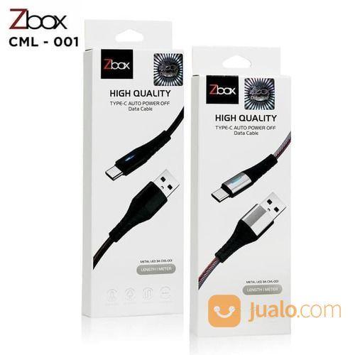 Kabel Cas Charger Kabel Data ZBOX METAL LED Type C 3A CML-001 (24451231) di Kota Surakarta