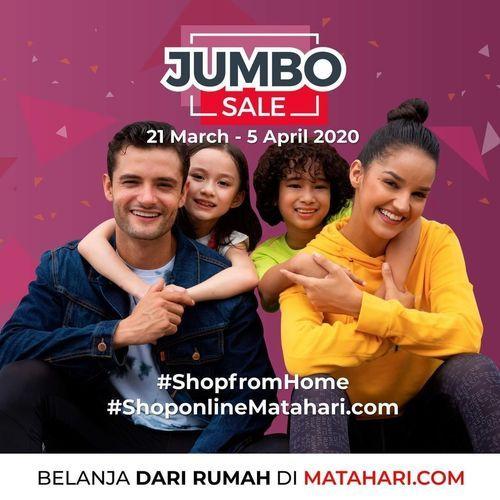 Matahari Jumbo Sale Shop From Home (24535699) di Kota Jakarta Selatan