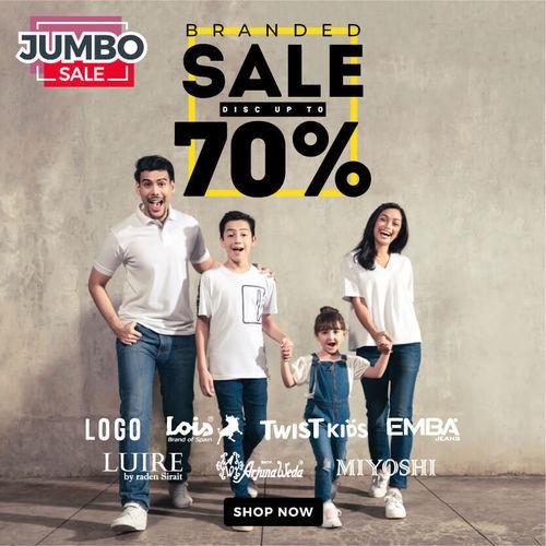 Matahari Branded Sale Up to 70% (24537659) di Kota Jakarta Pusat