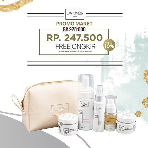 In White Beauty Skincare Package Promo 10% (24544127) di Kota Jakarta Pusat