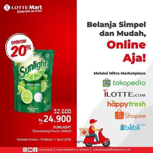 Lotte Mart Promo Belanja Online (24549623) di Kota Jakarta Selatan