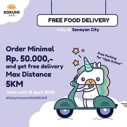 Kokumi Free Food Delivery (24550591) di Kota Jakarta Pusat