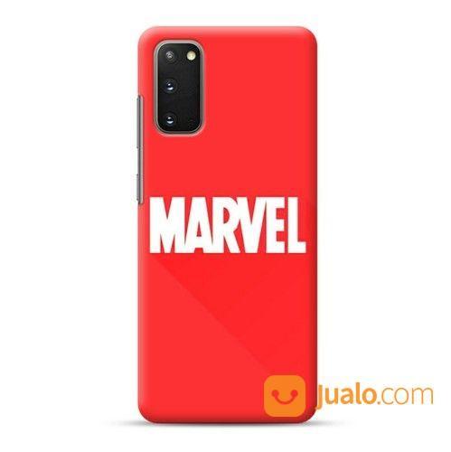 Marvel Red Texts Samsung Galaxy S20 Custom Hard Case (24555751) di Kota Bekasi