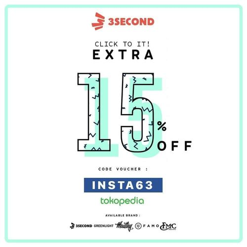 3Second Kode Promo 15% Off (24558011) di Kota Jakarta Selatan