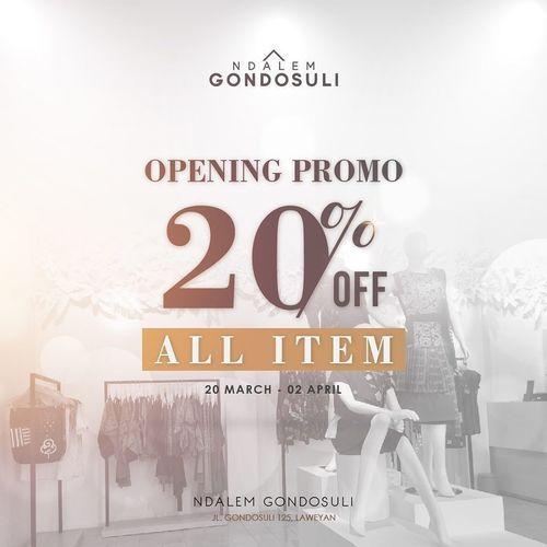 Ndalem Gondosuli Gallery Opening Promo 20% Off (24558227) di Kota Surakarta