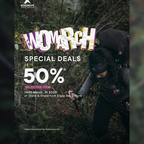 Eiger Special Deals 50% Off Selected Item (24558663) di Kota Jakarta Selatan