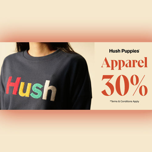 Hush Puppies Apparel Discount 30% (24559427) di Kota Jakarta Selatan