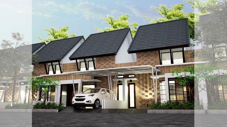 Rumah Murah Cluster Desain Modern Strategis Di Candirenggo Singosari Malang (24711051) di Kab. Malang