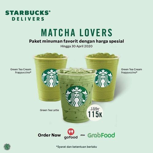 Starbucks Matcha Lovers Promo