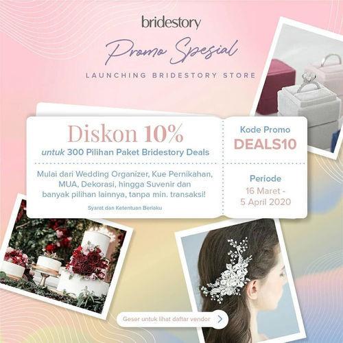 The BrideStory Kode Promo Diskon 10%