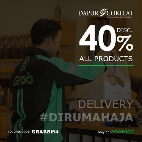 Dapur Cokelat Dellivery Disc. 40% All Products