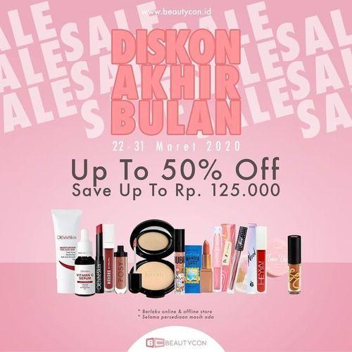 Beautycon Indonesia Diskon Akhir Bulan Up To 50% (24733275) di Kota Jakarta Selatan