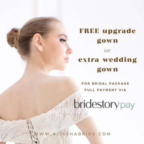Alissha's Bride - Bridal Package Promo BridestoryPay
