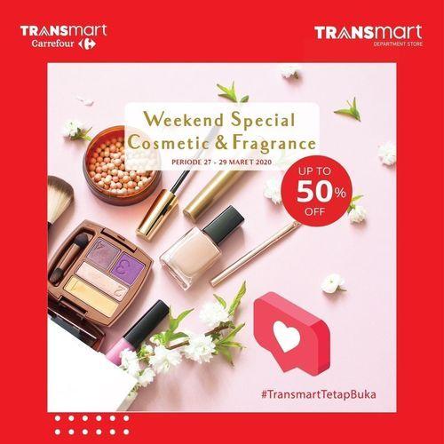 Transmart Carrefour Weekend Special Cosmestic & Fragrance (24763059) di Kota Jakarta Selatan