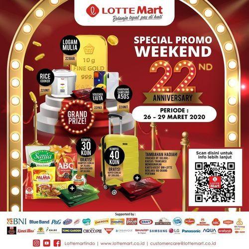 Lotte Mart Special Weekend Promo (24764279) di Kota Jakarta Selatan