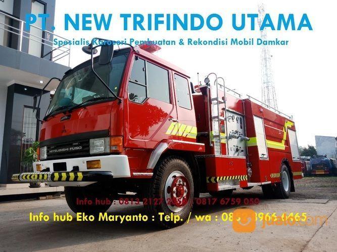 Karoseri Spesialis Mobil Pemadam Kebakaran Damkar Rescue Jakarta Timur Jualo