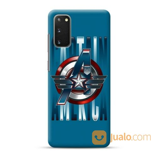 Blue Averagers Captain America Samsung Galaxy S20 Custom Hard Case (24797255) di Kota Bekasi