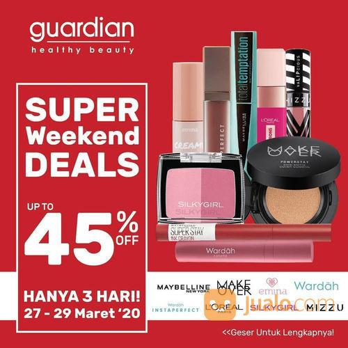 Guardian Super Sale Weekend Deals (24816707) di Kota Jakarta Selatan