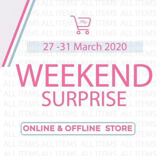 J.Rep Promo Weekend Surprise Online / Offline Store (24819279) di Kota Jakarta Selatan