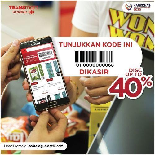 Transmart Disc Up To 40% (24832471) di Kota Jakarta Selatan